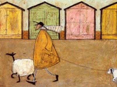 Along the Promenade by Sam Toft