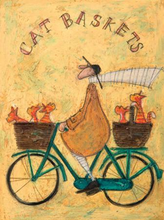 Cat Baskets by Sam Toft