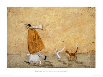 Ernest, Doris, Horace and Stripes by Sam Toft