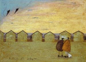 Kites at Dawn by Sam Toft