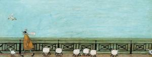 Moses Follows That Picnic Basket by Sam Toft