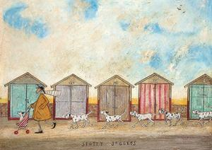 Spotty Joggers by Sam Toft