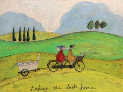 Taking the Ducks Home by Sam Toft