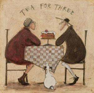 Tea for Three 2 by Sam Toft