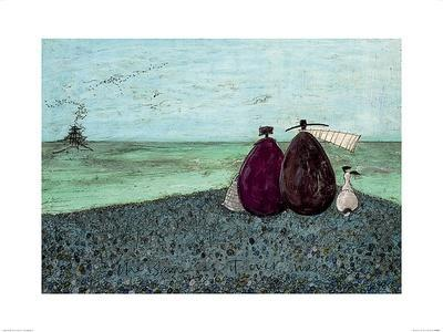 SAM TOFT REMEMBERING WHEN WE FIRST MET ART PRINT WITH FRAME OPTIONS OR CANVAS
