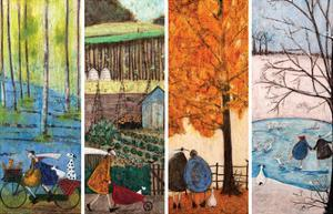 Which is Your Favourite Season? by Sam Toft