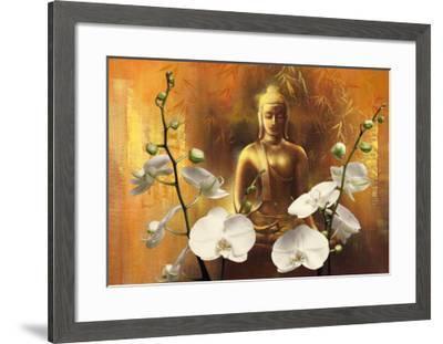 Samadhi I-Wei Ying-wu-Framed Art Print