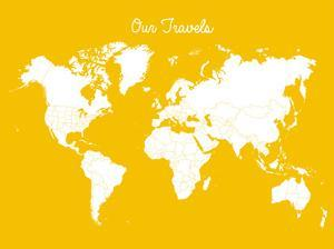 Our Travels Mustard by Samantha Ranlet