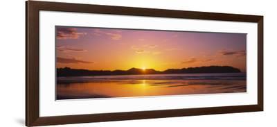 Samara Beach at Sunrise, Guanacaste Province, Costa Rica--Framed Photographic Print