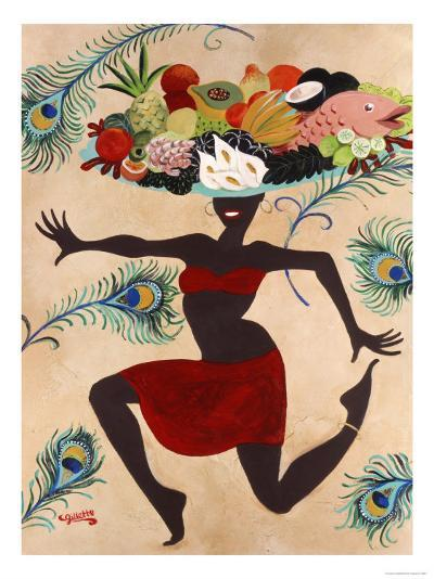 Samba Mama-Susan Gillette-Premium Giclee Print