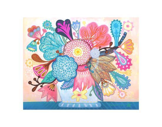 Samba-Mercedes Lagunas-Art Print