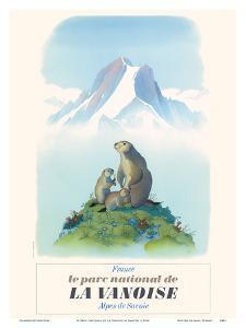Le Parc National de La Vanoise - France - Alpes de Savoie by Samivel