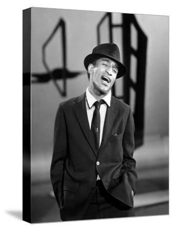 Sammy Davis Jr. Singing in a Television Special, 1957