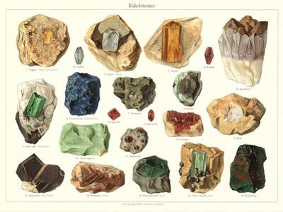 Samples of Gemstones