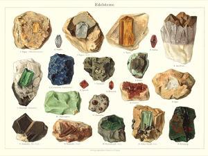 Samples of Gemstones