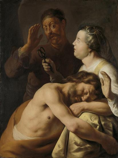 Samson and Delilah, 1635-Jan Lievens-Giclee Print