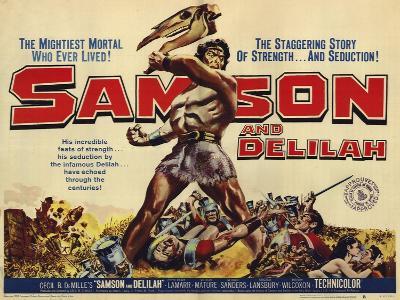 Samson and Delilah, 1959--Art Print