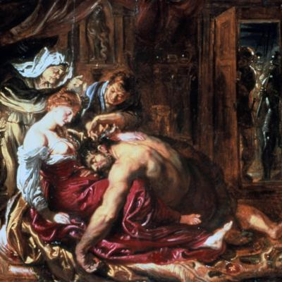 Samson and Delilah, C1609-1610-Peter Paul Rubens-Giclee Print