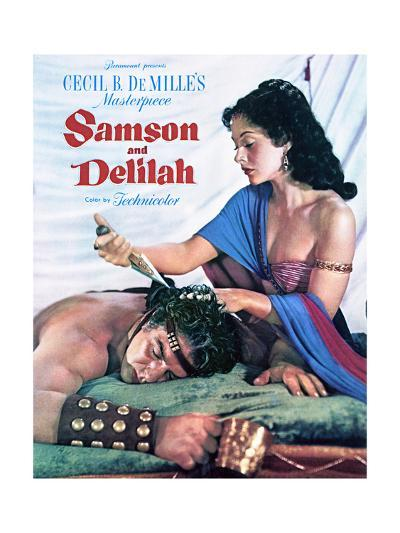 Samson and Delilah - Movie Poster Reproduction--Art Print
