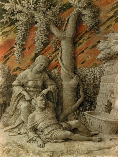 Samson and Delilah-Andrea Mantegna-Giclee Print