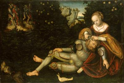 Samson and Delilah-Lucas Cranach the Younger-Giclee Print