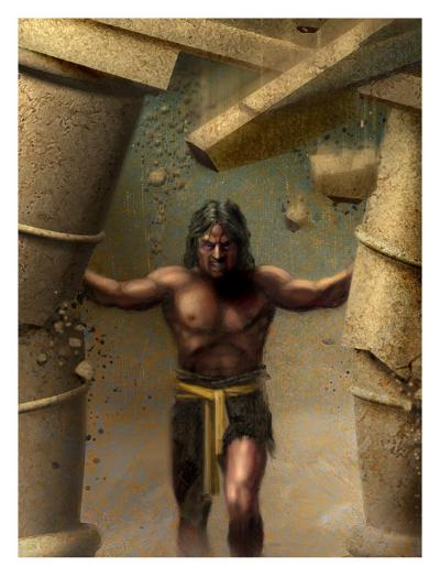 Samson--Art Print