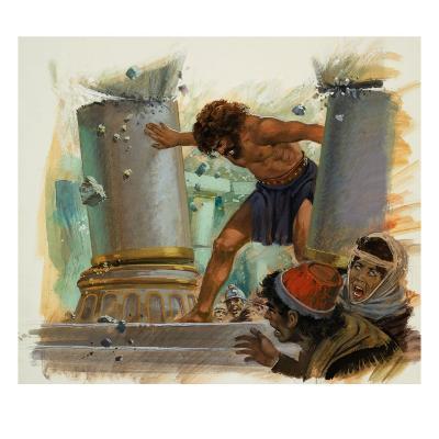 Samson-Andrew Howat-Giclee Print