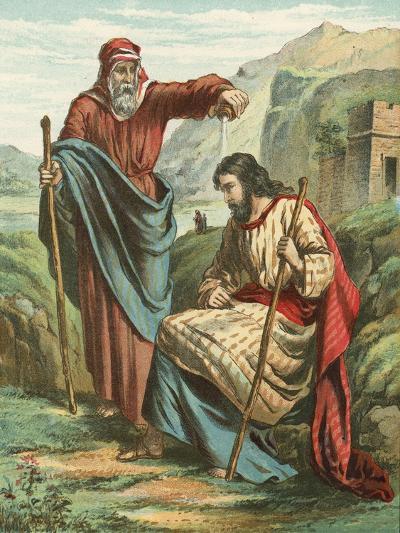 Samuel Blessing Saul--Giclee Print