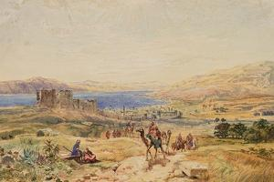Tiberias on the Sea of Galilee, C.1850 by Samuel Bough