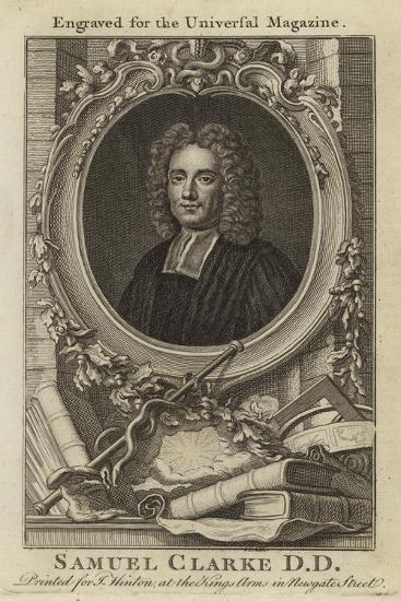 Samuel Clarke D D--Giclee Print