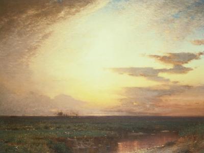Twilight on the Western Plains