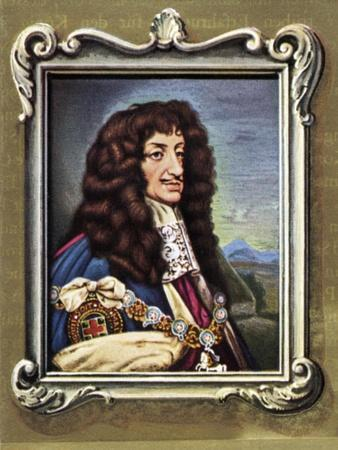 Charles II Portrait of