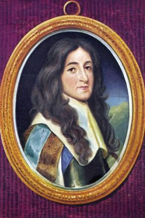 James II Portrait of