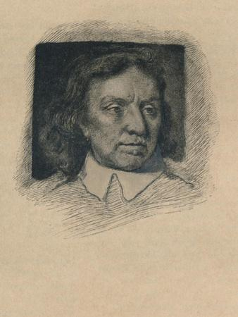 Oliver Cromwell, (1599-1658). English Military Leader and Politician, 1901