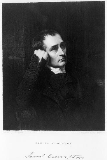 Samuel Crompton, English Inventor of the Spinning Mule, C1880S-James Morrison-Giclee Print