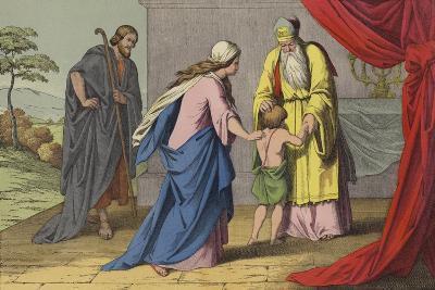 Samuel Dedicated to the Lord--Giclee Print