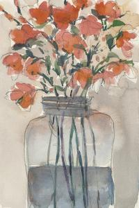 Flowers in a Jar I by Samuel Dixon