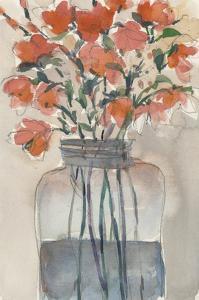 Flowers in a Jar I by Samuel Dixon
