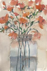 Flowers in a Jar II by Samuel Dixon