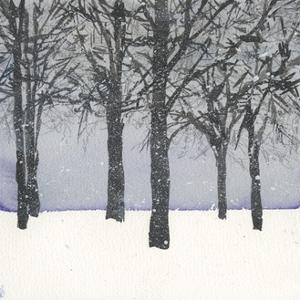 Forest Sketch I by Samuel Dixon