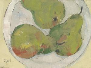 Plate with Pear by Samuel Dixon