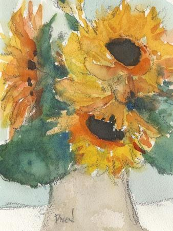 Rustic Sunflowers I