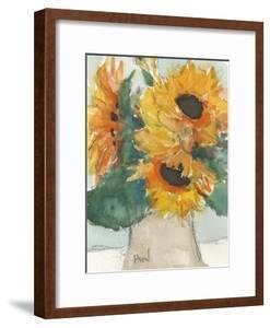 Rustic Sunflowers I by Samuel Dixon