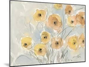 Sunset Poppies I by Samuel Dixon