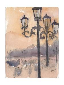 Venice Watercolors I by Samuel Dixon