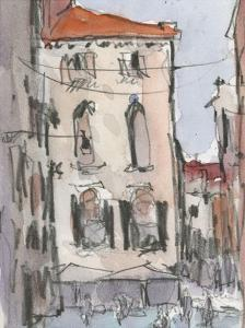 Venice Watercolors III by Samuel Dixon