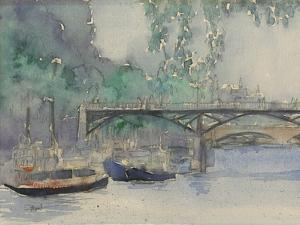 Venice Watercolors V by Samuel Dixon