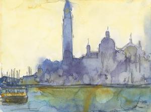 Venice Watercolors VI by Samuel Dixon