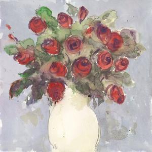 Watercolor Bouquet I by Samuel Dixon