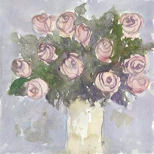 Watercolor Bouquet II by Samuel Dixon